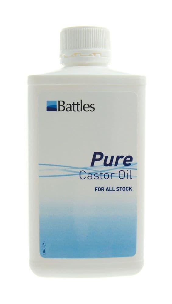 Battles castor oil